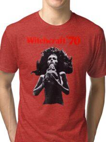 Witchcraft '70 movie shirt! Tri-blend T-Shirt