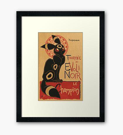 Noir Framed Print