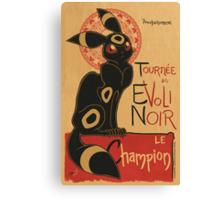 Le Evoli Noir Canvas Print