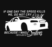 Paul Walker - A Tribute shirt, sticker & more by Paul Walker