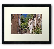 La Bastide de Serou Framed Print