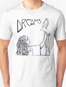 Stevie Nicks- Art Nouveau Style- B&W Unisex T-Shirt