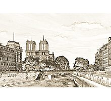 Parisian View Photographic Print