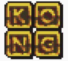 K-O-N-G Letters by JForm