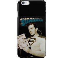 Kirk Alyn Reading Superman 1948 iPhone Case/Skin