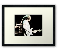 The Blues: Chris Duarte Framed Print