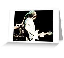 The Blues: Chris Duarte Greeting Card