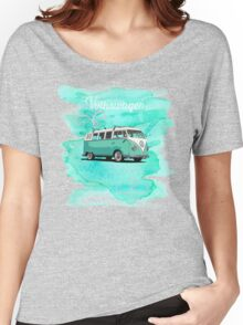 Volkswagen Kombi Mint Swirl © Women's Relaxed Fit T-Shirt
