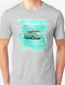 Volkswagen Kombi Mint Swirl © Unisex T-Shirt