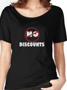 NO DISCOUNT Women's Relaxed Fit T-Shirt