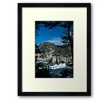 Cypress Cove Framed Print