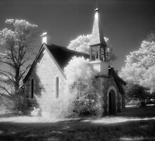 St James, Boloco - infrared by Syd Winer