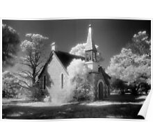 St James, Boloco - infrared Poster