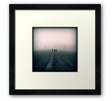 Distant Roads Framed Print