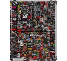 Metal Sticker Bomb iPad Case/Skin