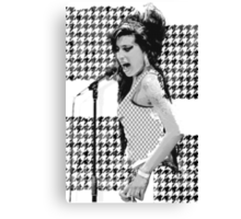 Amy Winehouse in London Canvas Print