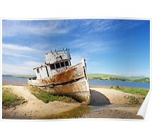 Boat Wreck Poster