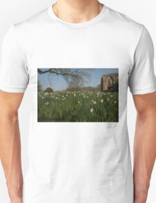 SPOT THE YELLOW - FOUNTAINS ABBEY RUINS Unisex T-Shirt