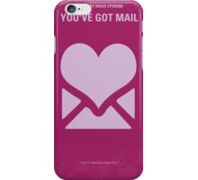 No107 My Youve Got Mail minimal movie poster iPhone Case/Skin