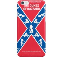No108 My The Dukes of Hazzard minimal movie poster iPhone Case/Skin