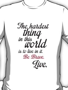 Buffy Typography T-Shirt
