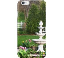 Spring Gazebo iPhone Case/Skin