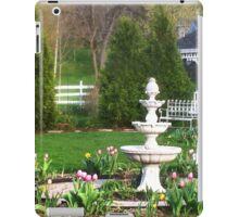 Spring Gazebo iPad Case/Skin