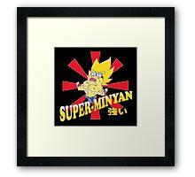 Super-Minyan Framed Print