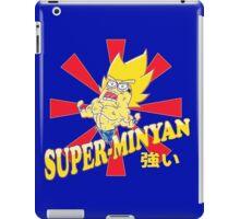 Super-Minyan iPad Case/Skin