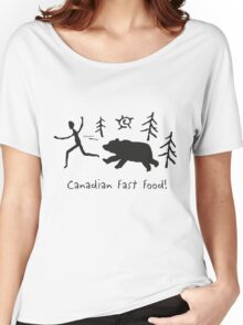 Canadian Fast Food Women's Relaxed Fit T-Shirt