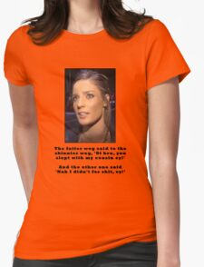 What the fatter one said to the skinnier one T-Shirt