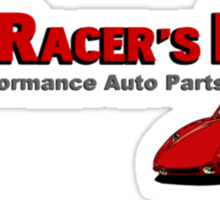 The Racer's Edge Sticker