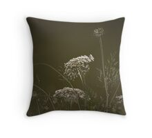 FLORAL INTENTION Throw Pillow