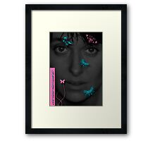 cover woman Framed Print