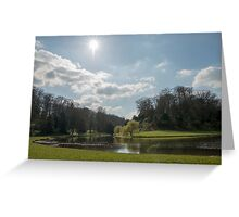 FOUNTAINS ABBEY AND STUDLEY ROYAL Greeting Card