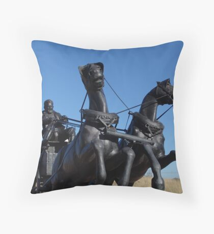 Immortalized Throw Pillow