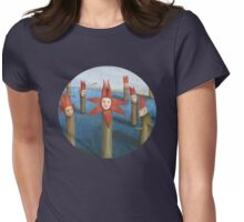 A Matter of Time Womens Fitted T-Shirt
