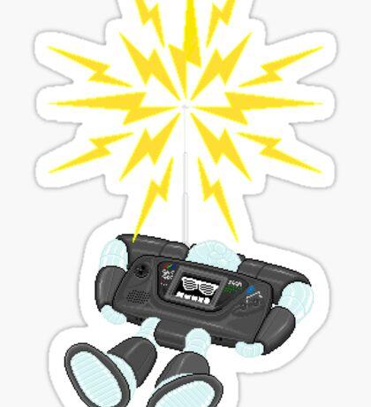 "8 Bit Buzz Bot v2.0.1 ""GearRoid"" Sticker"