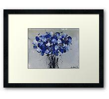 Blue Spring '09 Framed Print