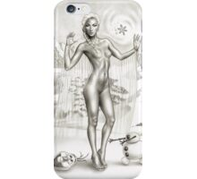 FROZEN - ELSA, THE ICE QUEEN... AND OLAF! iPhone Case/Skin