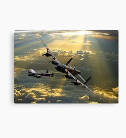 ''The departure'' Canvas Print