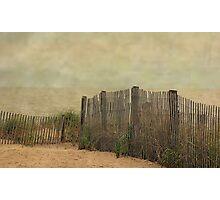 Stormy Beach Photographic Print