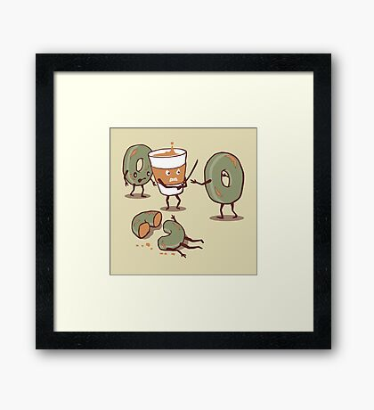 Decap Coffee Framed Print