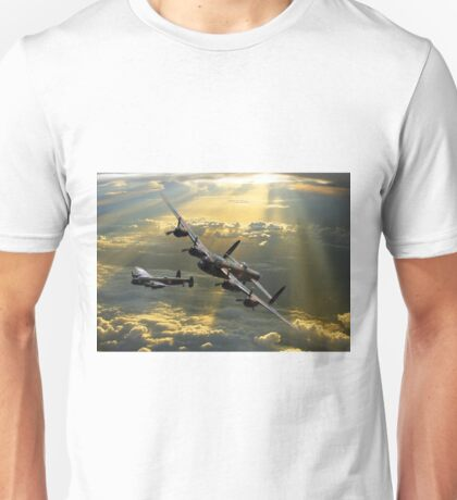 ''The departure'' Unisex T-Shirt
