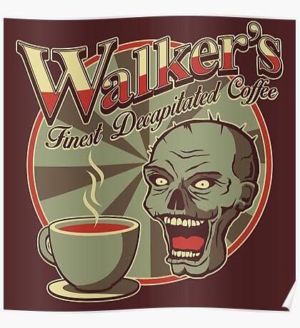 Walker's Decap Coffee Poster