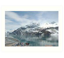 Mendenhall Glacier, Alaska Art Print