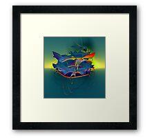 Excellent Birds Framed Print