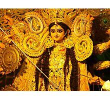 Devi Durga Kolkata India Photographic Print