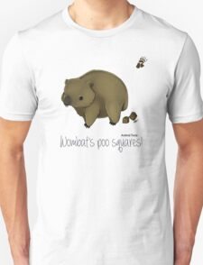 Animal Facts Australia - Wombat Unisex T-Shirt
