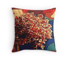 Tree of Hope / homage to Steve Irwin Throw Pillow